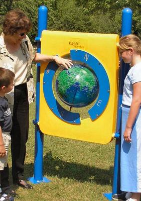 World Globe Playground Panel