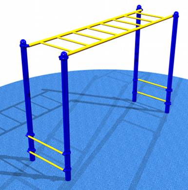 Playground Horizontal Ladder & Climber