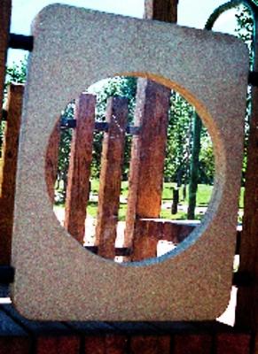 Lexan Playground Window Panel