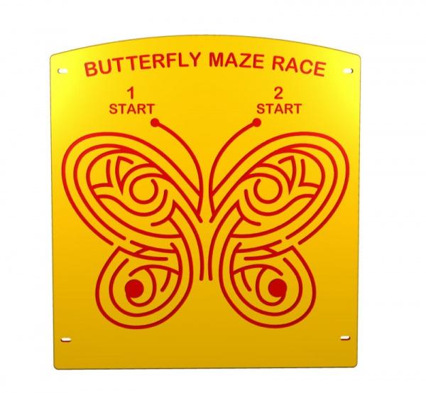 Butterfly Finger Maze Race Panel