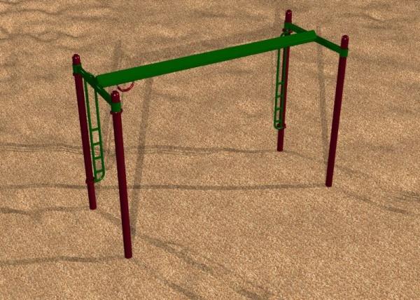Playground Track Ride