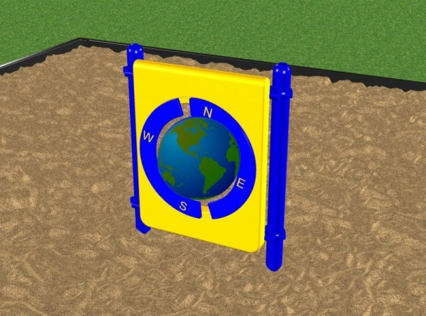 Durable Playground Globe Panel