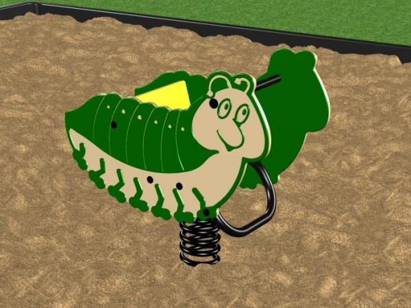 Caterpillar Spring Rider