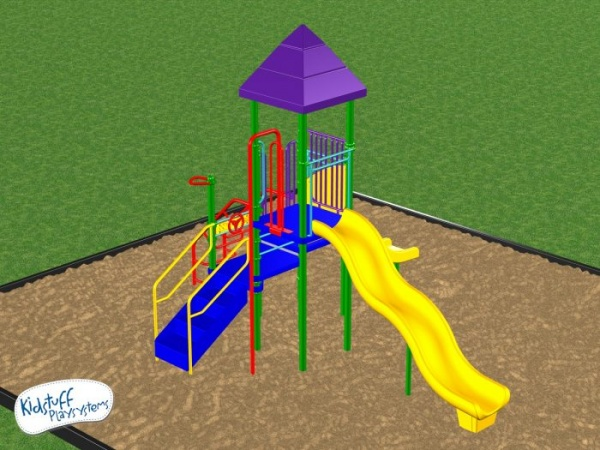 Affordable Kids Playground System