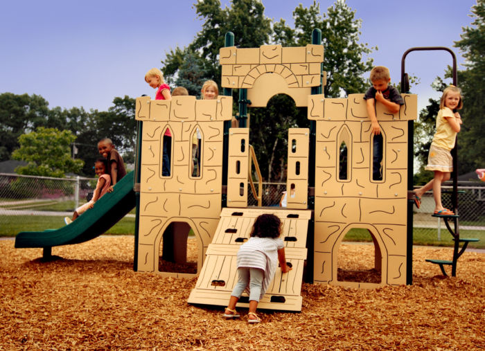 playground castle for school