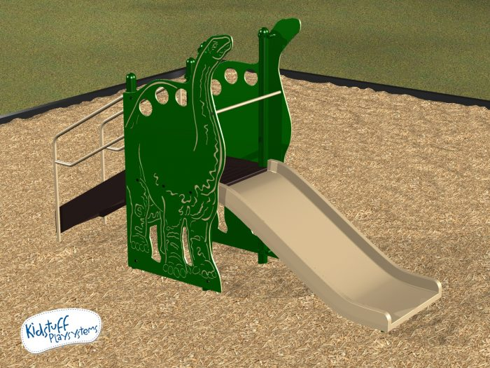 Brontosaurus 3ft high Wide Slide #31213