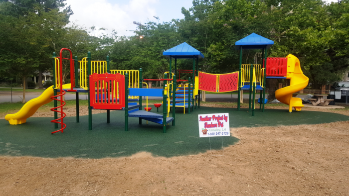 Playground Fitness Equipment