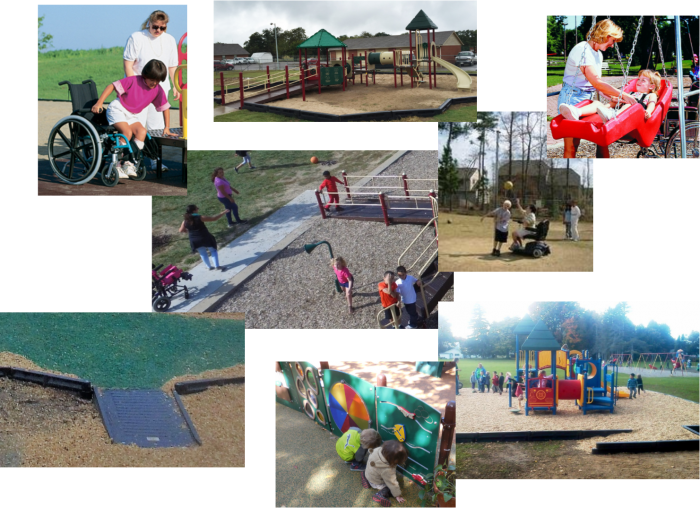 ADA Handicap Accessible Playground Equipment
