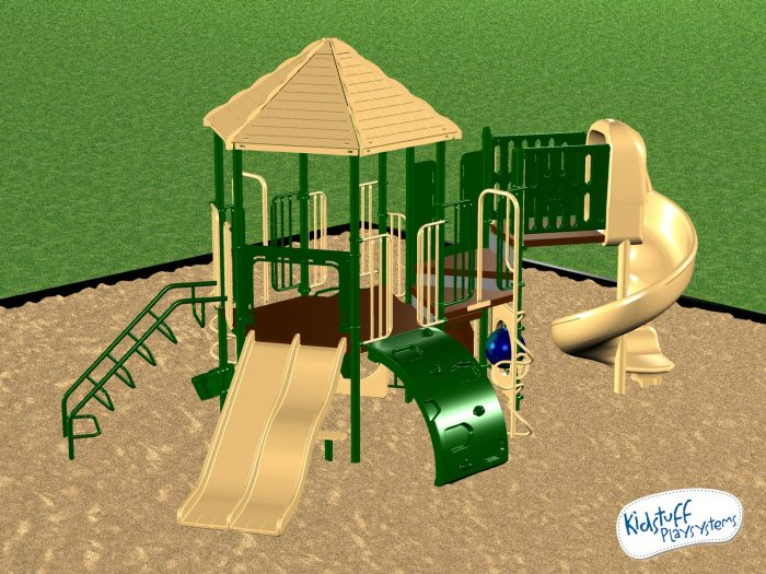 Commercial Playground Equipment Ages 2-12 yrs