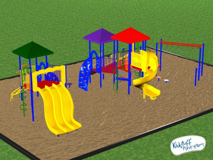 Commercial Playground Equipment Ages 5-12 yrs
